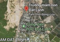 Cần bán gấp lô đất tái định cư Đất Lành 64m2 sạch đẹp chỉ 835 triệu, Đông Nam đường 5m
