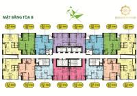 02 suất ngoại giao căn 66m2, 2 phòng ngủ 2 vệ sinh dự án Intracom Vĩnh Ngọc, giá 1,452 tỷ