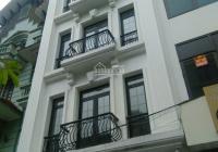 Cho thuê nhà MP Trương Công Giai DT 80m2 * 8T, thông sàn, có thang máy, PCCC, tiện KD. Giá 75tr/th