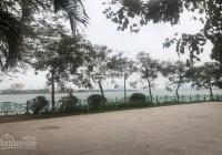 Bán đất Vũ Miện (làng Yên Phụ), Tây Hồ, 350m2, mặt tiền 16m, giá 50 tỷ. Liên hệ 0963911687
