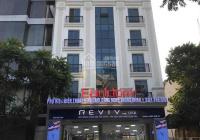 Cho thuê tòa nhà mặt phố Nguyễn Khánh Toàn 250m2, 7.5 tầng, mặt tiền 12m, có hầm. Tuyến phố cực đẹp