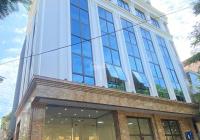 Cho thuê nhà phố Đội Cấn, Ba Đình mặt tiền 12m 9 tầng 2 hầm, ngân hàng, tổng công ty giá 800tr/th