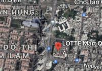 Chính chủ cần bán đất ngã 4 Nguyễn Thị Thập và D1 Q7 gần Lotte Mart lh Vân 0989880877