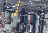 Đất mặt tiền Cộng Hoà 285tr/m2 xây building 30x40 GPXD 12 lầu 320tỷ 1200m2 0909039799 giá thật 100%
