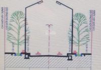 45m mặt tiền, đường đường Lương Sơn, hai container tránh nhau