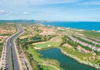 Đất thổ cư ven biển Bình Thuận - đường đi vào đến đất - liền kề NovaWorld