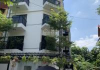 Cho thuê biệt thự 214 Nguyễn Xiển - Thanh Xuân 165m2 5T 1 tum lô góc, thông sàn, thang máy 65tr/th