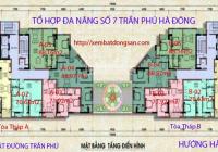Chính chủ cắt lỗ CH A03 2PN, 72m2, SĐCC tại 197 Trần Phú, chỉ 1,590 tỷ. Lh 034.858.2953