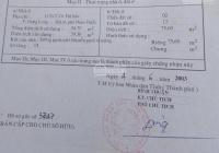 Chính chủ cần bán gấp căn nhà hẻm 6m đường Võ Thị Sáu, Phan Thiết