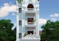Bán toà nhà văn phòng mặt phố Trần Thái Tông xây mới 2021. DT 180m2, MT 7.5m x 9T, khu trung tâm