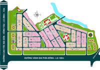 Bán lô đất nền của CĐT Hoàng Quân rẻ nhất thị trường, Lô A4, DT 6x25,3m, 50tr/m2, ngay đường chính