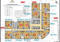 Bán căn hộ 136.6m2 đẹp rộng nhất tòa Rainbow Linh Đàm chung cư dịch vụ tốt nhất khu giá 4 tỷ có TL