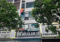 Cho thuê nhà mặt phố Nguyễn Văn Huyên, diện tích 70m2 x 6 tầng xây thông có thang máy, mặt tiền 5m