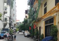 Cần bán nhà Âu Cơ đẹp view cầu Nhật Tân, 4 tầng, bãi gửi ô tô 50m