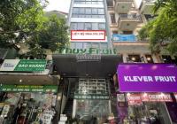 Cho thuê nhà mặt phố Duy Tân 70m2, 7 tầng 5.5m MT thông sàn thang máy ĐH âm trần kinh doanh sầm uất