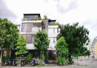 Nhà mặt đường Thành Thái, đối diện công viên Cầu Giấy, diện tích 240m2 x 3,5 tầng, mặt tiền dài 30m