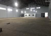 Cho thuê kho xưởng đường Quốc Lộ 1A, 1100 m2 cộng thêm sân đậu xe riêng. Cont 24/24, PCCC