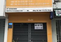 Cho thuê nhà ngay trung tâm Q Phú Nhuận, khu dân cư sầm uất, thích hợp kinh doanh hoặc mở văn phòng