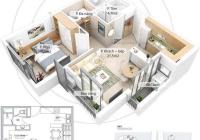 Bán căn hộ 46m2 toà Lake đã có nội thất, giá 1.25 tỷ bao phí. LH 0388494643