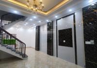Bán nhà mới xây 100% thổ cư, HXH, 2 lầu + ST, SHR