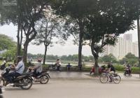 Bán nhà mặt hồ Đền Lừ đẹp nhất quận Hoàng Mai 71m2 mặt tiền gần 5m kinh doanh cực tốt 330tr/m2