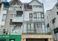 Cho thuê LK khu A10 - A14 KĐT Nam Trung Yên DT 80m2 * 4,5 tầng, MT 6m, tiện làm VP, KD. Giá 43tr/th