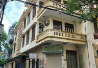 Cho thuê nhà mặt ngõ Trần Quốc Hoàn, DT tầng 1, 50m2, tầng 2 - 4 60m2, nhà xây 4 tầng, mặt tiền 4m