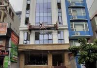 Bán rẻ tòa nhà văn phòng 9 tầng 1 hầm 300m2 nở hậu mặt phố Nguyễn Văn Huyên kinh doanh cho thuê tốt