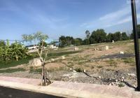 Bán lô đất 85m2 thổ cư đối diện xí nghiệp đông đúc sổ riêng đường nhựa, giá 1 tỷ 8