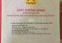 Nhà xuất cảnh cần bán gấp nhà đường Nguyễn Oanh