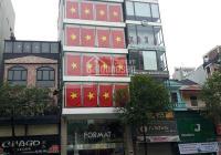 Cho thuê tòa nhà 8 tầng 100m2 vị trí đẹp nhất mặt đường Trần Duy Hưng thông sàn, thang máy làm VP