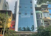 Chính chủ bán tòa văn phòng 8 tầng mặt phố Hoàng Quốc Việt. DT: 300m2, MT: 10m, LH: 0989864579