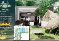 Tặng 8 chỉ vàng khi mua căn hộ ban công sân vườn 2PN 1VS, hỗ trợ vay 80% trong 24 tháng 0% lãi suất