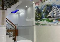 Bán nhà hẻm thông P. Bình Trị Đông A, Bình Tân - 2PN 2WC - khu dân cư ổn định giá 2 tỷ 95