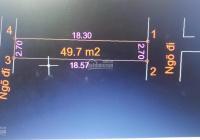 Bán đất thổ cư SĐCC, DT 44m2 khu tập thể Ươm tơ Sơn Đồng, Hoài Đức, HN 0838587878