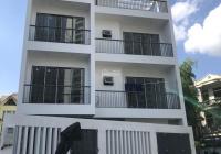 Cho thuê nhà ngõ 61 Lạc Trung ngõ 2 ôtô 90m2x4 tầng, MT10m, giá 30tr/th. Nhà mới xây, có thang máy