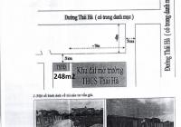 Nhà đất phân lô cạnh UBND xã Thái Hà, Thái Thụy, Thái Bình - có bể bơi, sân vườn