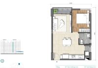 Giỏ hàng nhiều căn 1PN căn hộ D'Lusso Quận 2, gồm các căn đẹp nhất và giá tốt nhất dự án hiện tại