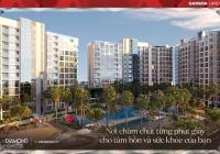 Căn 2PN view biển nhân tạo Diamond Centery, chỗ đậu xe định danh riêng, resort biển