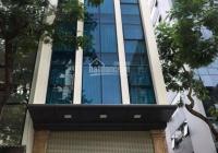 Tòa nhà văn phòng phố Trần Thái Tông mới tinh, 130m2 8 tầng MT 8m dòng tiền cực tốt - LH 0976289915
