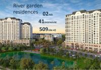 Bán Căn hộ 2 Phòng ngủ 65m2 đảo Swan Bay Đại Phước Đồng Nai, tầng 13A. Phòng khách View Golf Sông