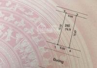 Cần bán gấp lô đất nền 80m2 dự án xã Tân Lập, đan phượng, Hà Nội sổ đỏ chính chủ giá 2.8 tỷ