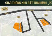 Đất nền lô Thái Bình - Gần đường DT420 rộng 24m ven Hòa Lạc - Hà Nội - giá 10.5tr/m2. LH 0343253123