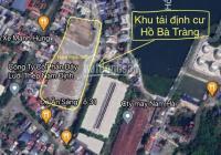 Bán lô đất đấu giá Hồ Bà Tràng, đường Nguyễn Văn Trỗi, MĐ to 24m, gần hồ Đông An, 79.4m2, 2 tỷ