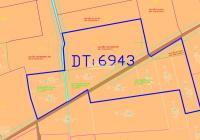 Giá đầu tư 6.5 tỷ cho lô đất 6.505 m2 mặt tiền 2 kênh cách đường 577 khoảng 60m, gần Tỉnh Lộ 7