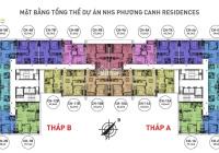 Chính chủ bán CH NHS Phương Canh, tầng 1802 (59m2) & 1603 (57.3m2) & 1910 (65.4m2). 0389*193*082