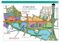 Tổng hợp quỹ căn biệt thự Khai Sơn Hill vị trí đẹp, giá hợp lý nhất thị trường, LH: 0989386638
