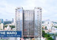 Giảm giá 540tr mùa dịch, căn hộ cao cấp 2 phòng ngủ 71m2 rẻ nhất The MarQ Quận 1. Giá: 12.8 tỷ