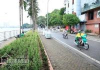 Chính chủ cần bán 170m2 đất số 19 mặt phố Trích Sài, mặt tiền 14m, view Hồ Tây, giá 65 tỷ