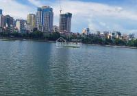 Mặt phố kinh doanh ngày đêm - view mặt hồ Hoàng Cầu - vỉa hè rộng 111m2 nhỉnh 15 tỷ